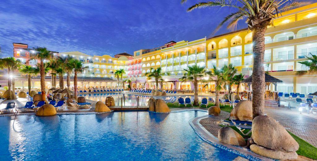 Hotel Mediterráneo Park 4* y su agradable entorno en el que relajarse