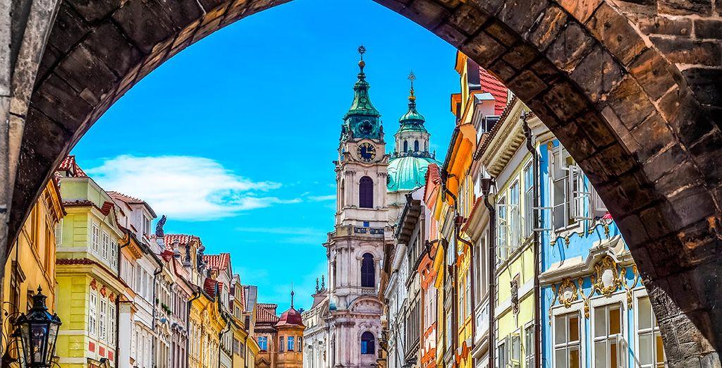 Tu primera parada será la ciudad de Praga