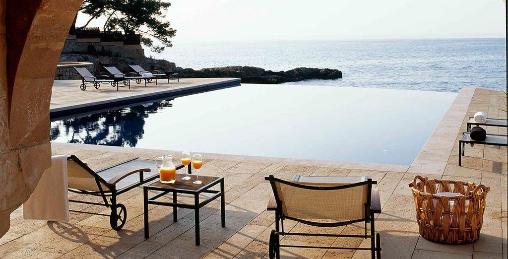 Una piscina espectacular para disfrutar