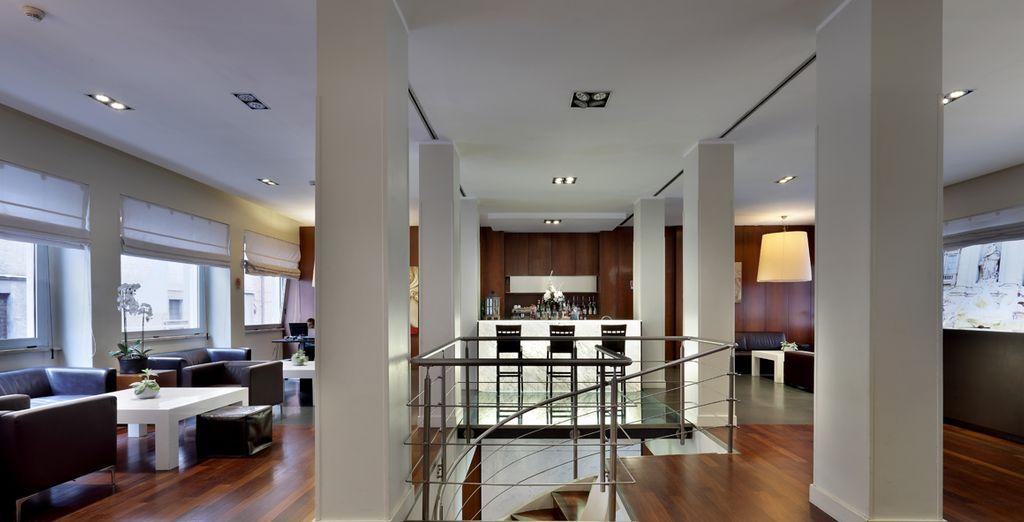 Un estilo minimalista, tonos marfiles y crudos aportan al hotel la tranquilidad que buscas