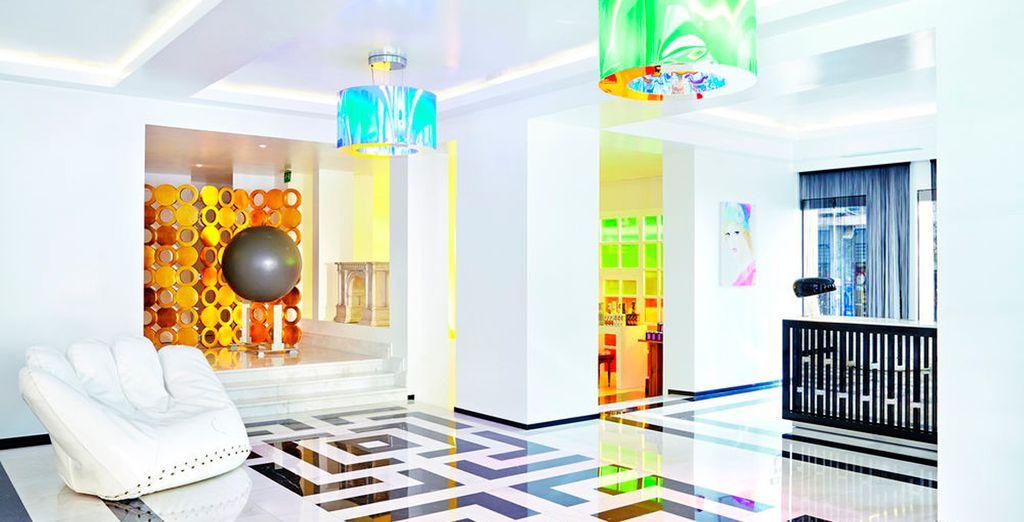 Un hotel boutique de lujo en el centro de la capital griega