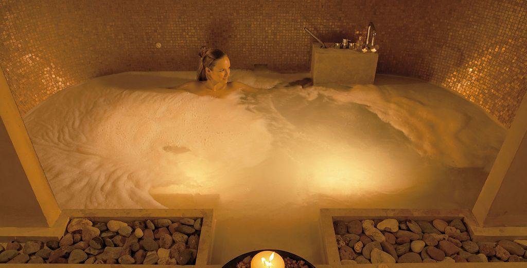 Un baño relajante para unas merecidas vacaciones