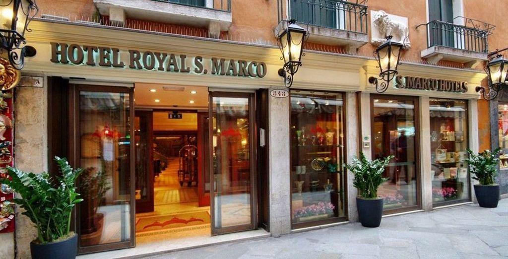 Royal San Marco 4*, a pocos pasos de la Plaza San Marcos
