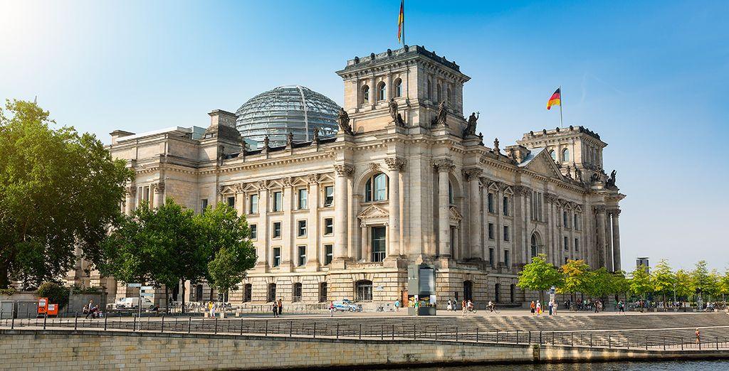 El majestuoso edificio del Reichstag