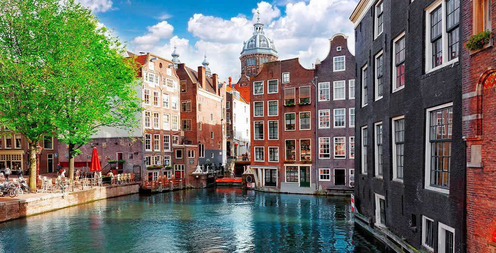 Ámsterdam, una ciudad llena de vida y color