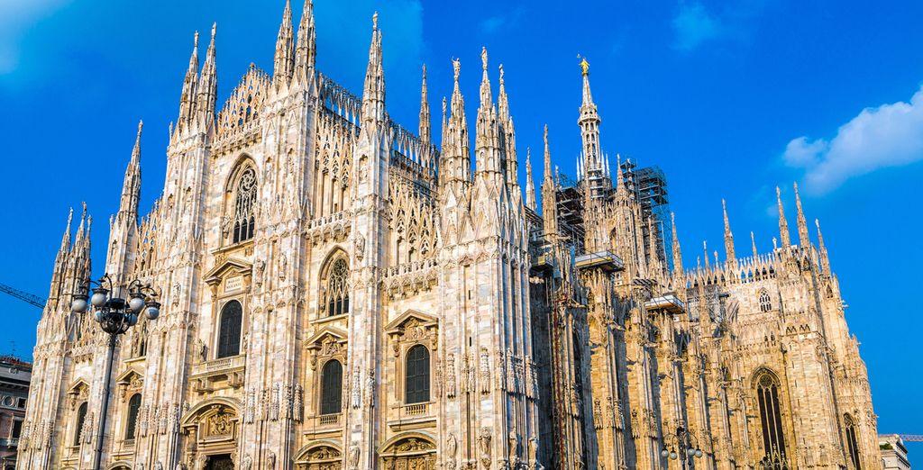 Milán cuenta con una impresionante catedral