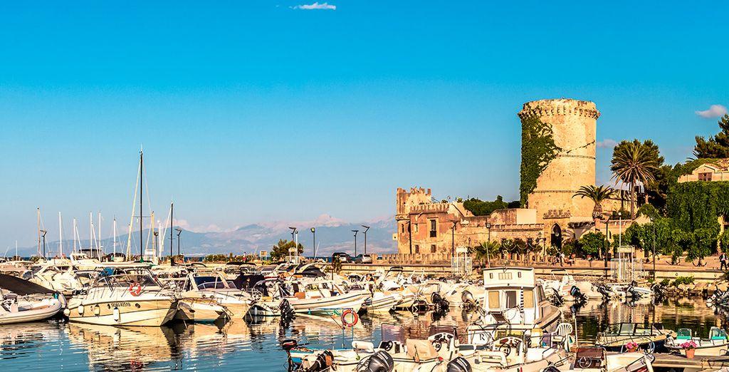 Una tarde encantadora en el Puerto de Palermo