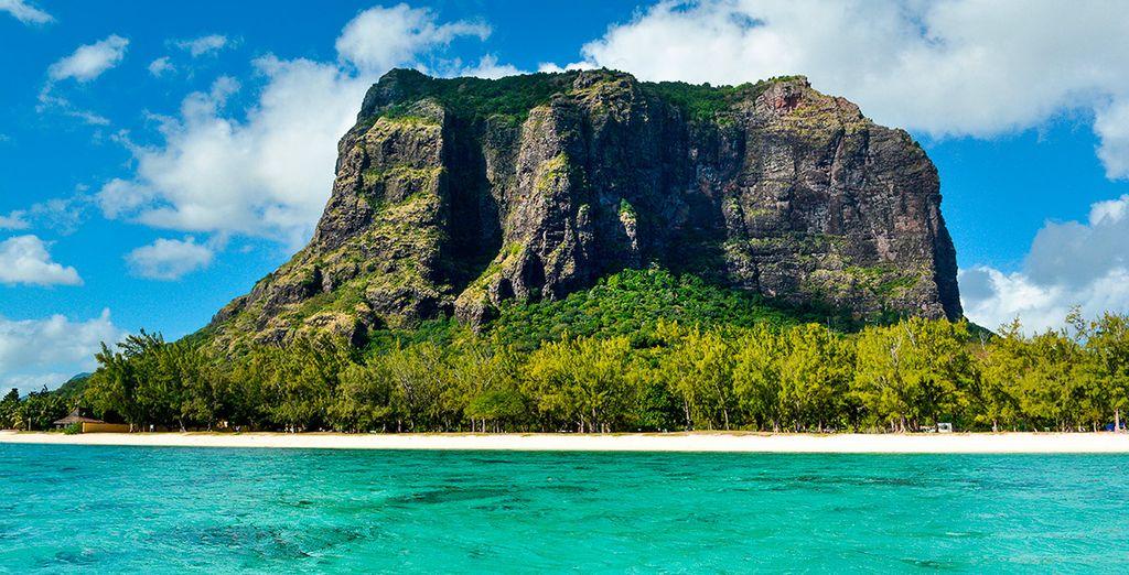 ... ¡la exótica Isla Mauricio!