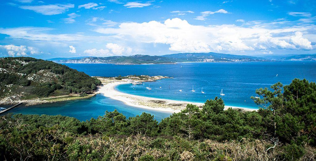 Las Islas Cíes te están esperando ¡Anímate a vivir una gran experiencia! Descansarás en Hotel Axis Vigo 4*