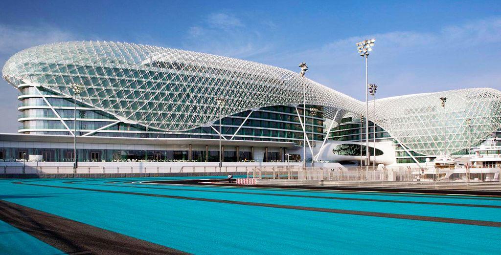 Bienvenido al Yas Viceroy Abu Dhabi 5*