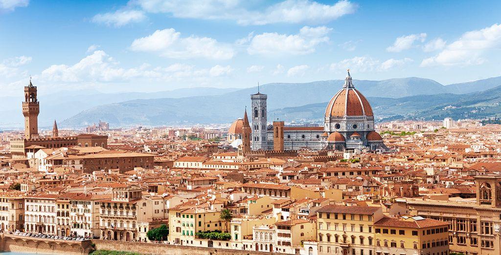 Visita el centro histórico y artístico de Florencia