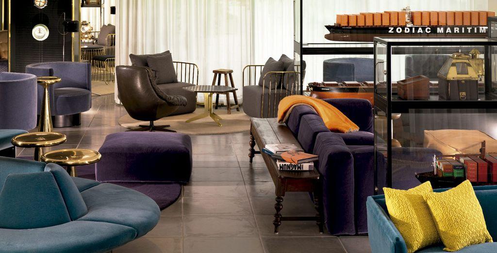 Zonas comunes confortables donde relajarte