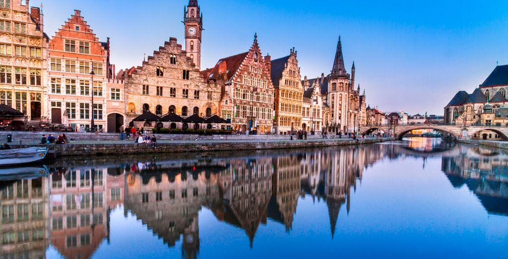 La ciudad de Gante fue fundada en el siglo IX