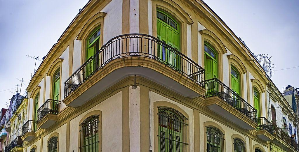 Te alojarás en una casa típicamente cubana