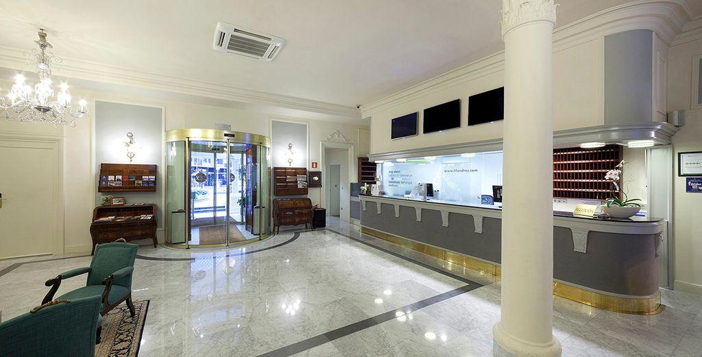 Hotel de Londres y de Inglaterra 4* te abre sus puertas