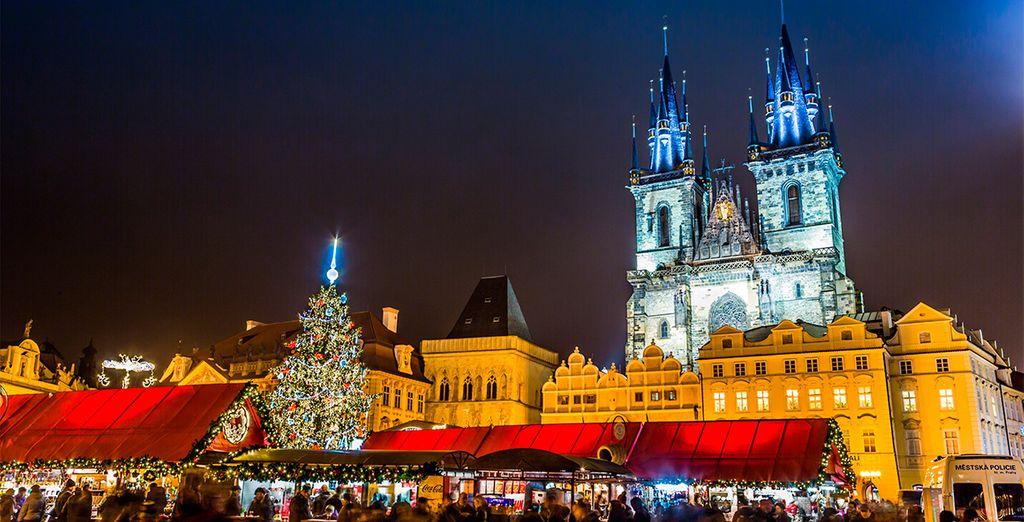 Regálate esta oportunidad para vivir la Navidad en Praga