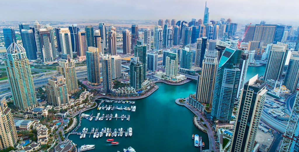 Una ambiciosa ciudad construida en el desierto