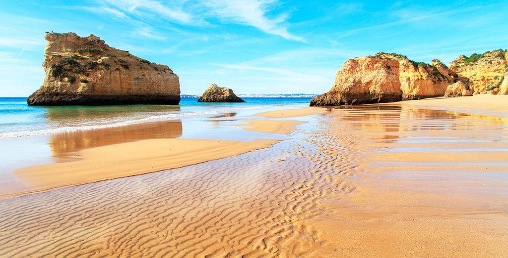 Playas de hermosos colores