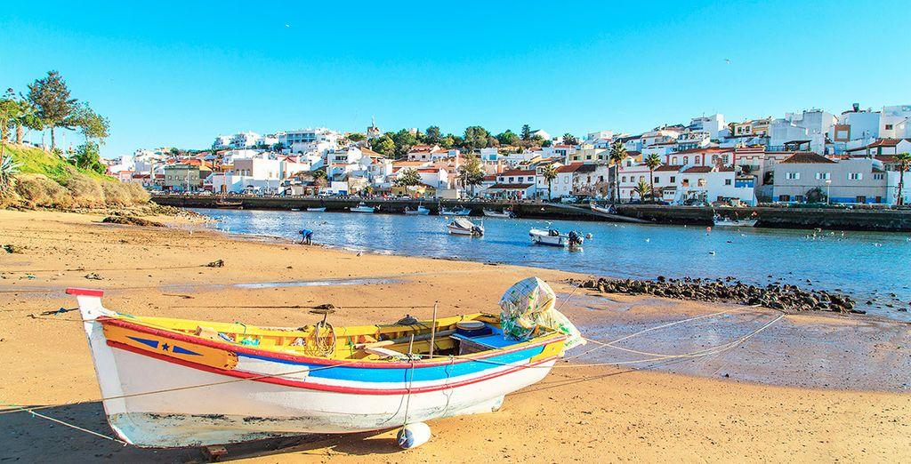 La bonita localidad de Portimao, a un paso