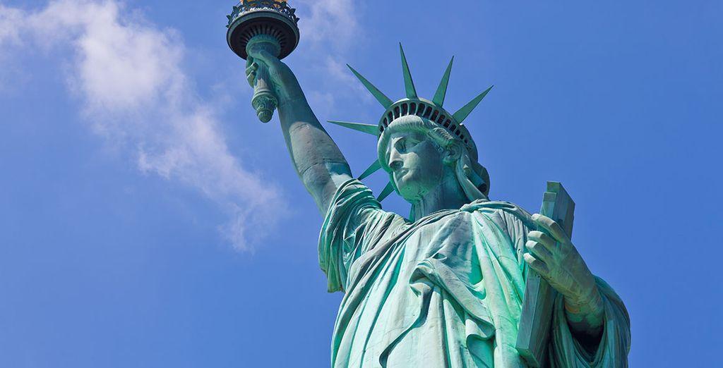 No te olvides de visitar el símbolo más icónico de Nueva York