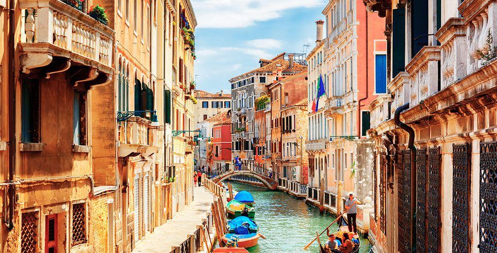 Venecia te enamorará