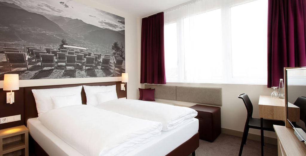 Descansa en tu habitación Comfort