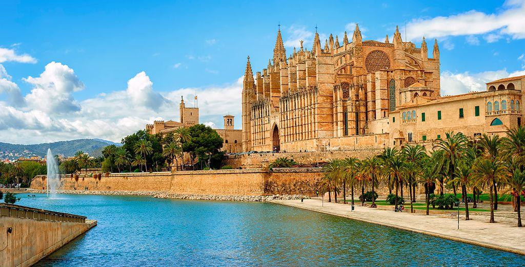 Acércate a Palma de Mallorca, a un paso