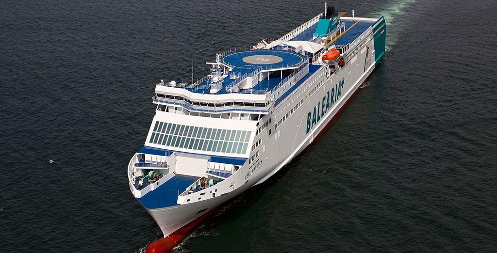 ¡Sube a bordo de Balearia y disfruta de Mallorca!