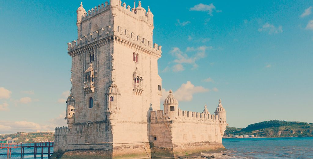 La Torre de Belém, uno de los iconos de la capital lusa