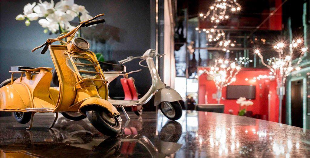 La Griffe Roma - MGallery by Sofitel 5*, un hotel de diseño italiano