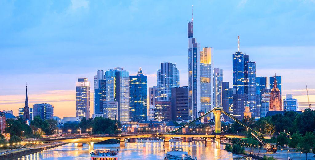 Tu última parada será Frankfurt, capital financiera de Alemania