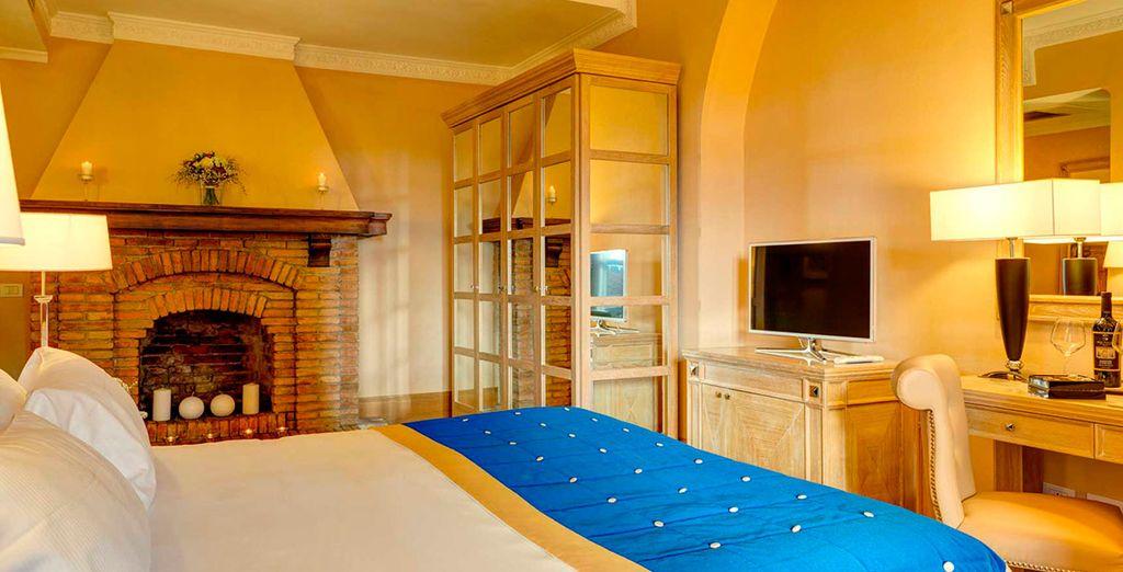 Te alojarás en una cómoda habitación Superior