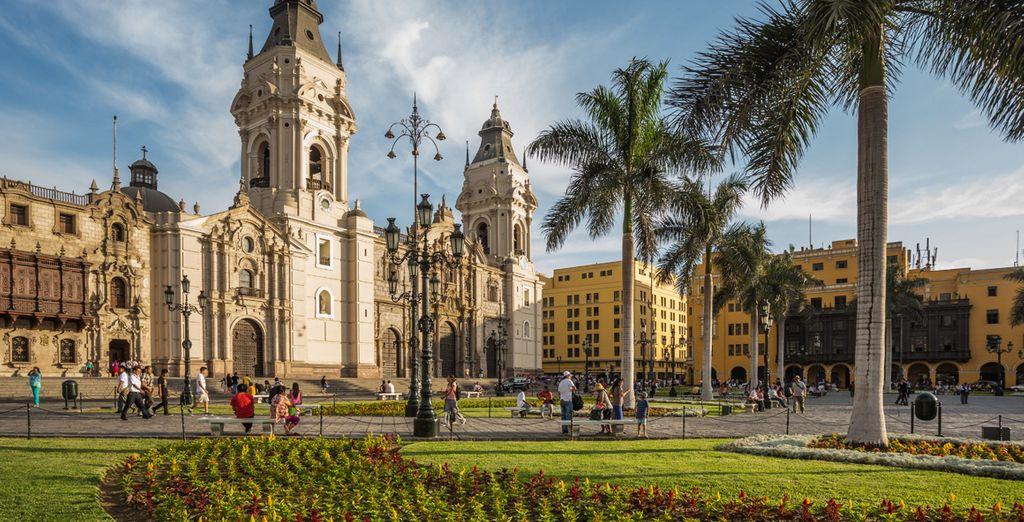 Lima es una ciudad de historia y riqueza colonial