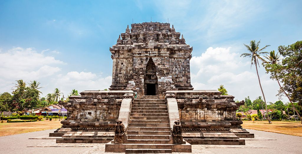 El templo de Mendut será una de tus primeras visitas en Java