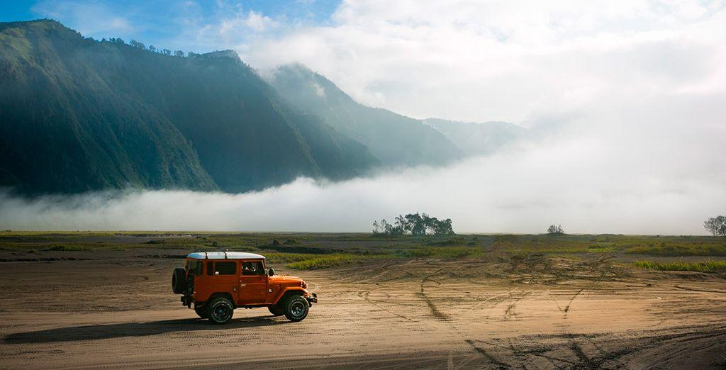Gozaréis de traslado en jeep 4x4