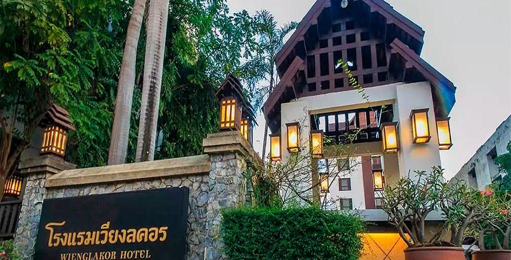 Bienvenido a Wienglakor Hotel Lampang 4*