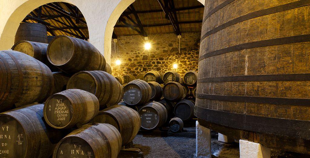 Visitarás la Quinta da Boeira, una bodega con mucha historia