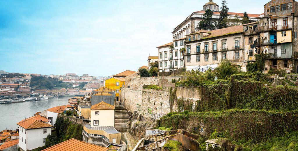 Bievenido a Vila Nova de Gaia, distrito de Oporto donde se encuentra el Cliphotel Gaia Porto