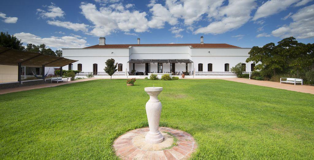 Un majestuoso establecimiento rural de cuatro estrellas situado en un antiguo palacio