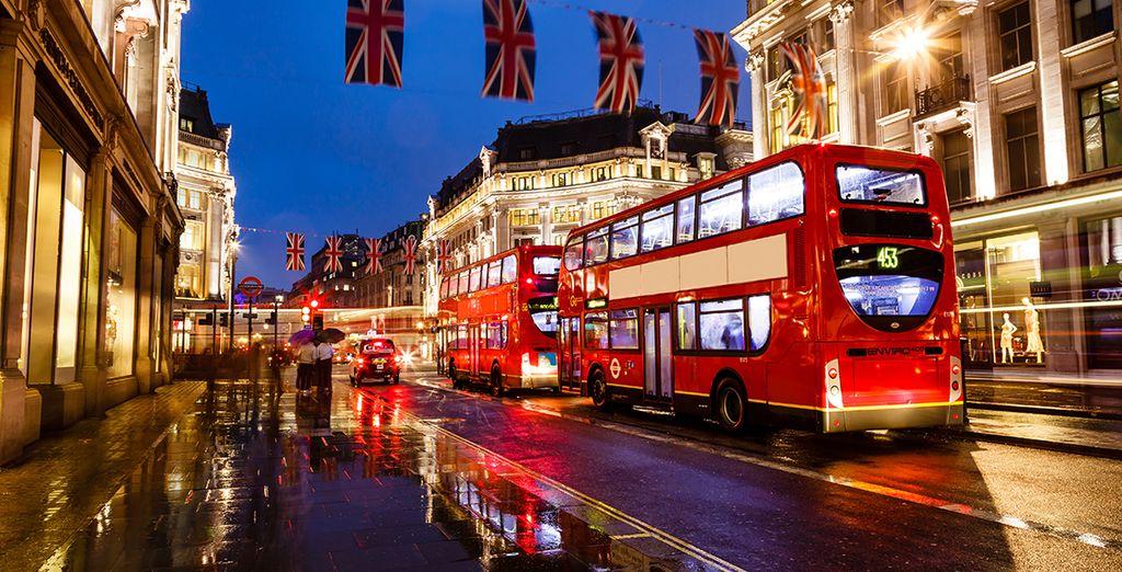 Ven a pasear por las calles más icónicas de Londres