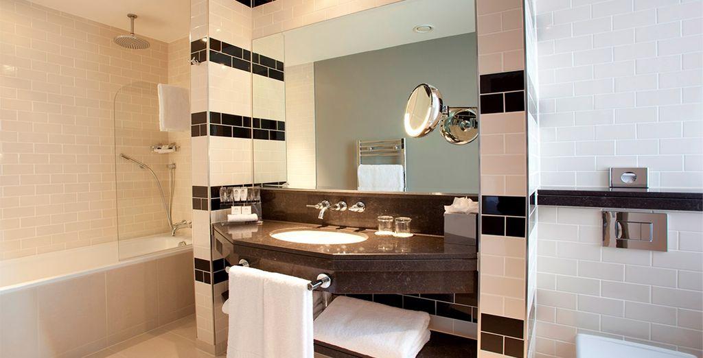 Ambas opciones cuentan con un baño totalmente equipado
