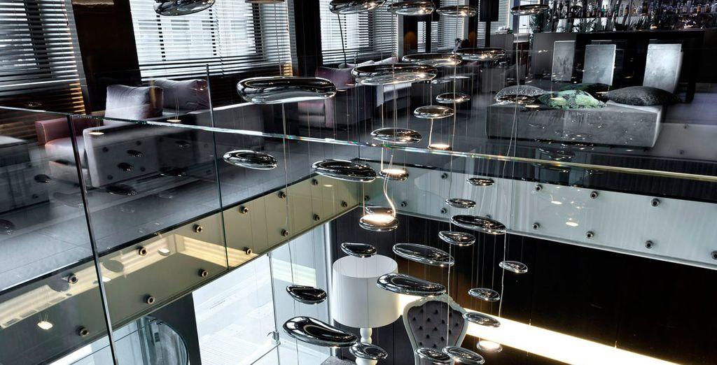 En la planta superior se encuentra el bar