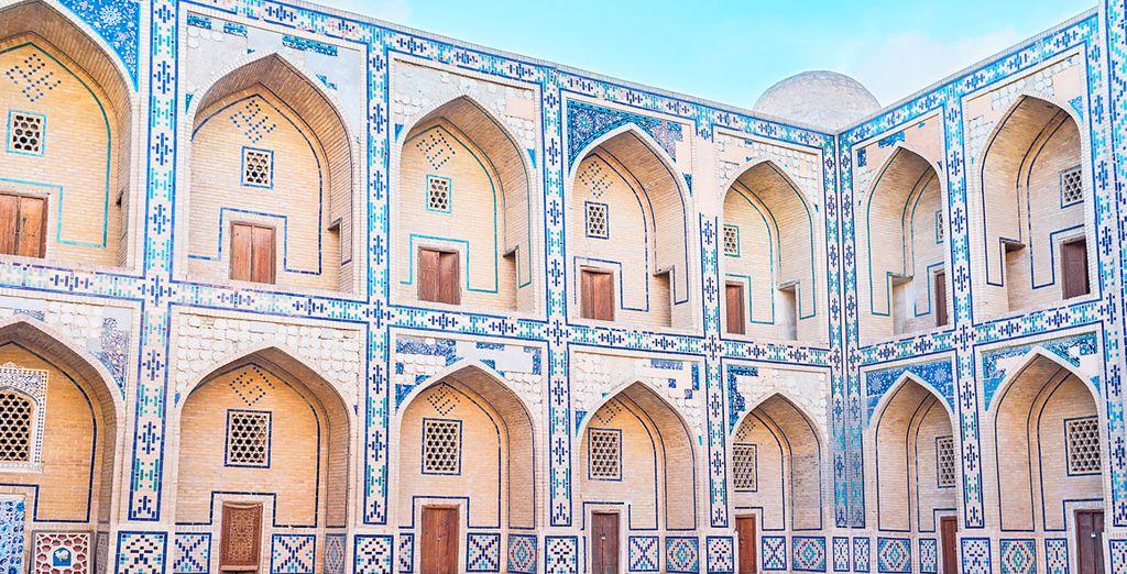 La bonita Madrasa Ulughbek