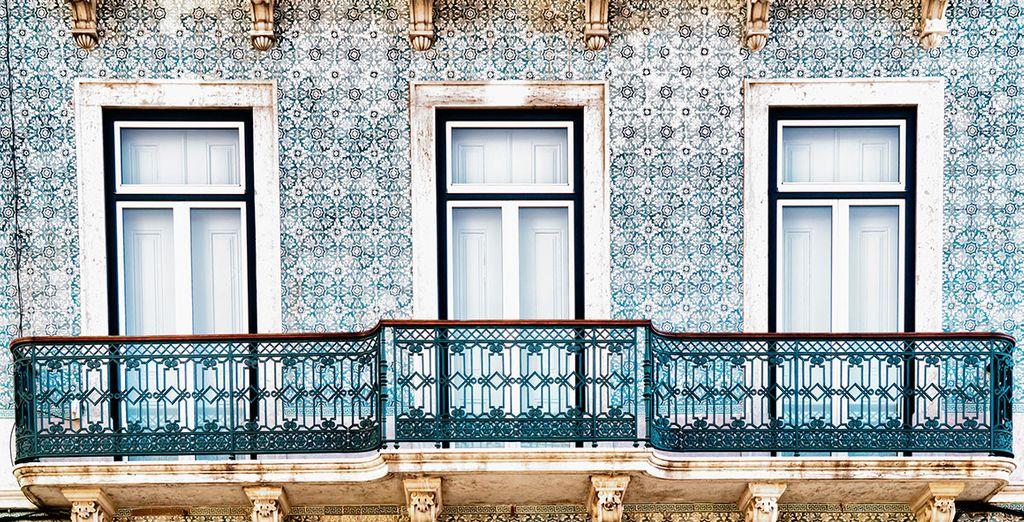 Una arquitectura típicamente portuguesa, con bellos elementos decorativos