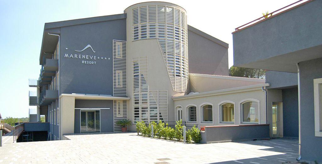 Mareneve Resort* se encuentra en un entorno privilegiado