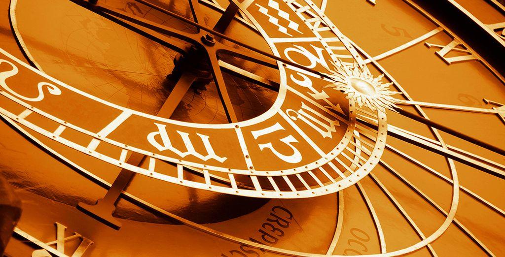 El reloj emblemático de Praga