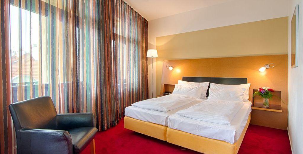 Tu habitación en Theatrino Hotel 4*