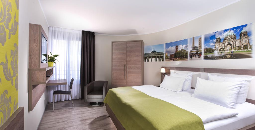 Tu habitación en Best Western Hotel Kantstrasse Berlin 4*
