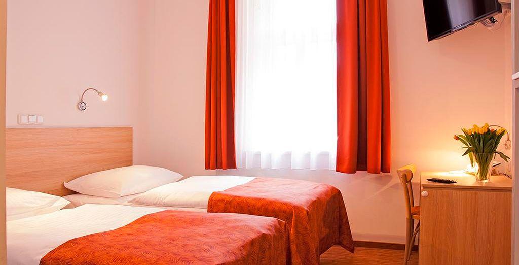 Tu habitación en Hotel Ambiance 4*