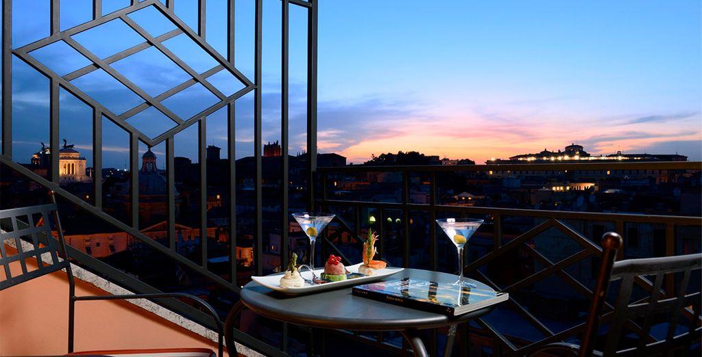 Espectaculares vistas desde la terraza